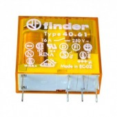 RELF4061-230 :: Rele Finder 16A 230V AC,