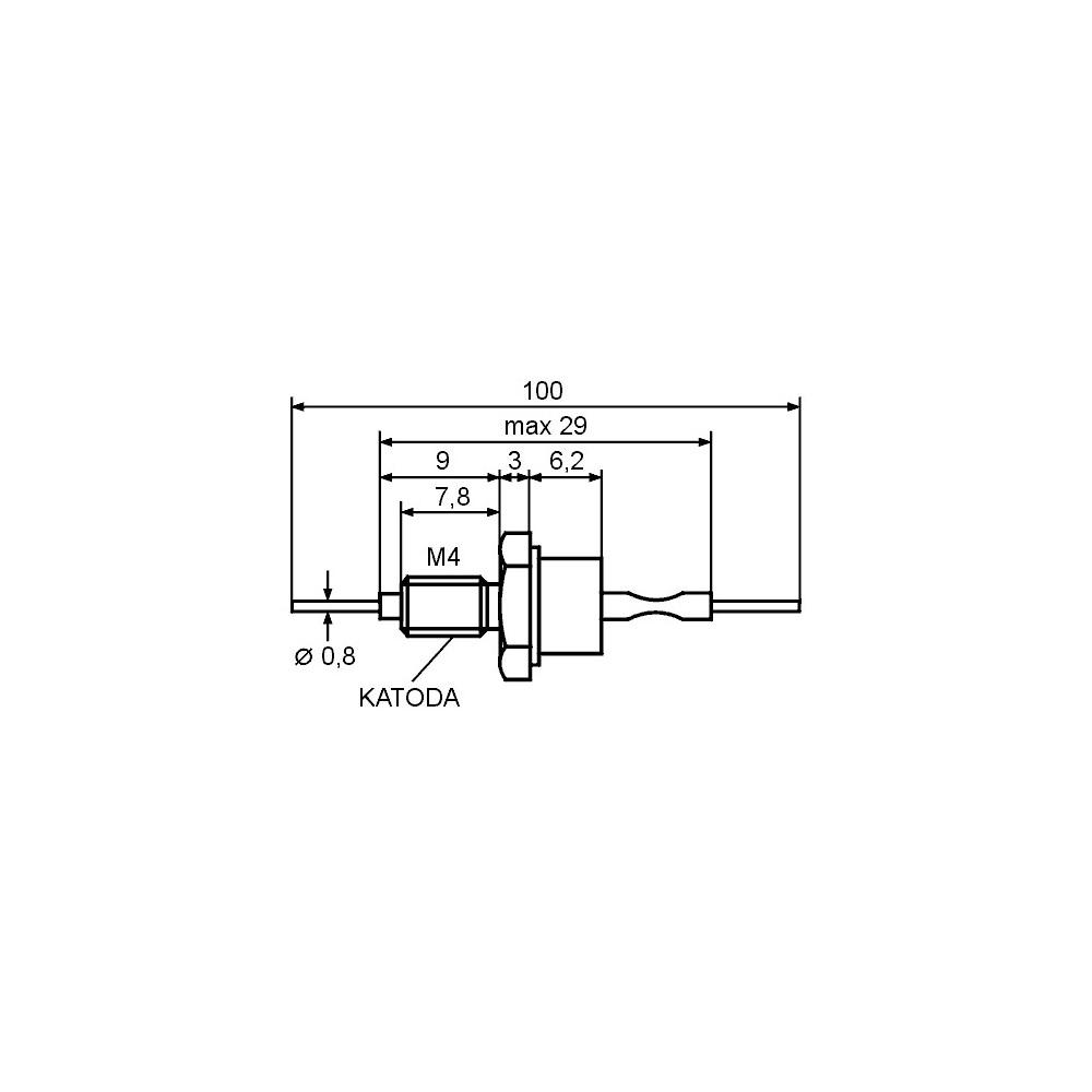 EMVIK3X20 -- Vijci konus. - M3x20mm