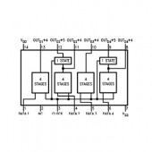 IC4006 -- IC 18-Stage Static Shift Register