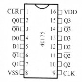 IC4017SMD -- IC Dec Count Drive Decout