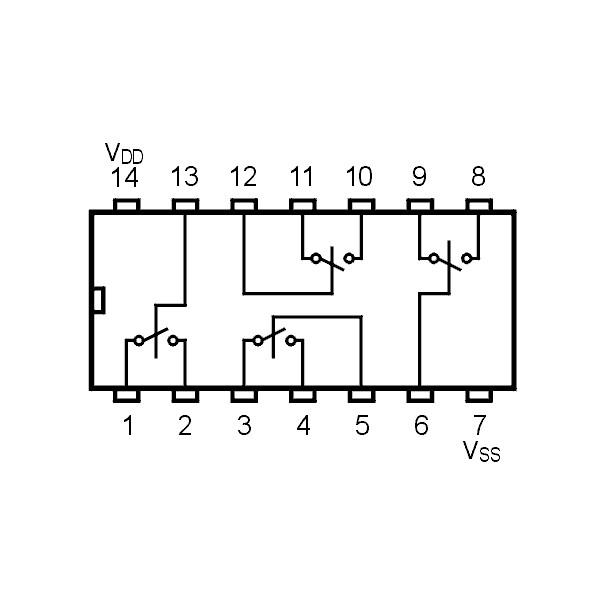 IC Bi-FET Sample Hold DIP8