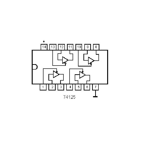 IC LED-Decoder 12 LEDs DIP16