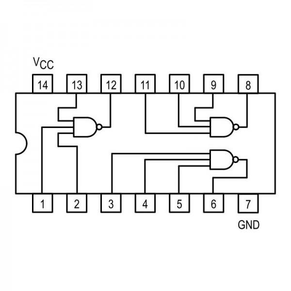 IC NF-E 20V 2A 4.5W DIP16