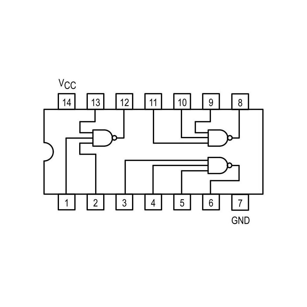 ICTDA1904 -- IC NF-E 20V 2A 4.5W DIP16