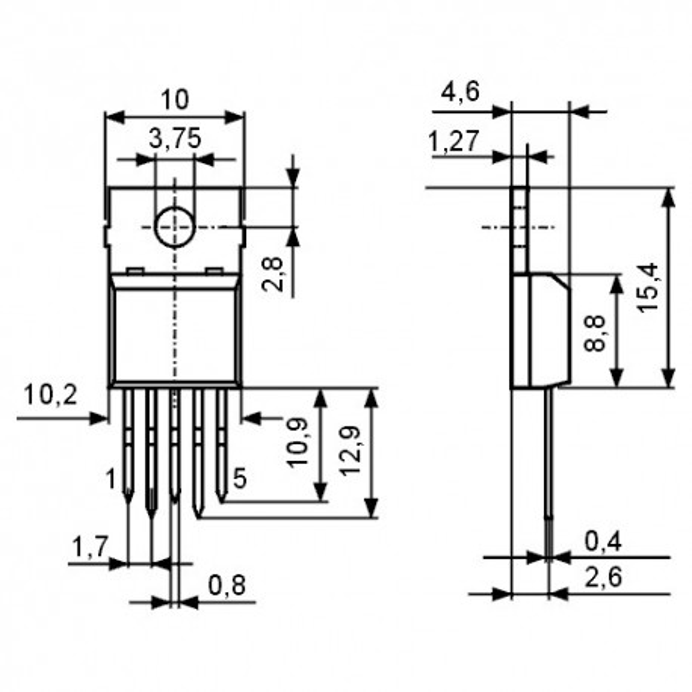 ICTDA2008 -- IC NF-E 28V 3A 12W
