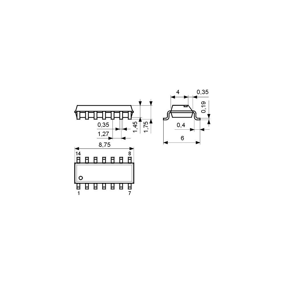 ICTDA2532 -- IC CTV RGB-Matrix DIP16