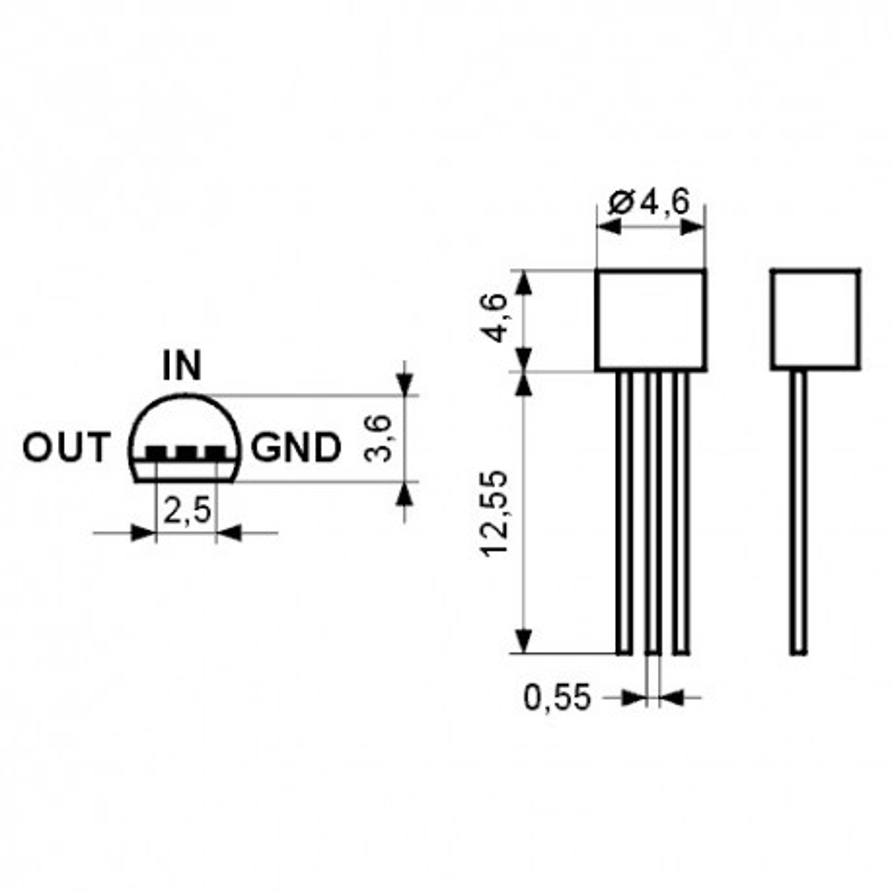 STN79L15 -- Stab.napona -15V 0.1A,TO92