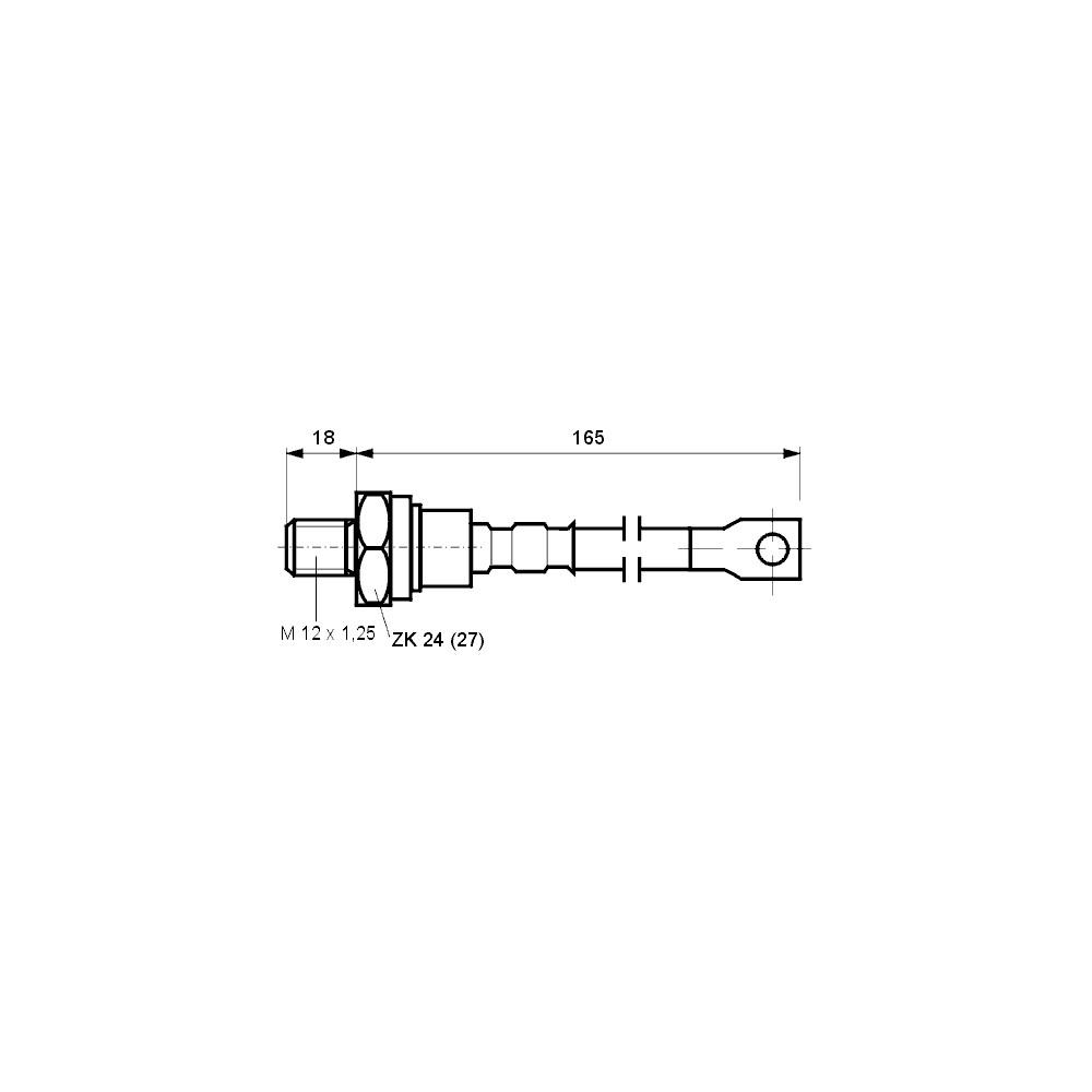 EMHI-0.5 -- Hilzna neizolovana 0.5mm2