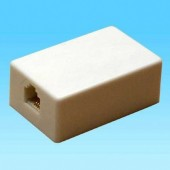 UTTAK/1X6BE -- Adapter tel.kab.1/1x6 bela
