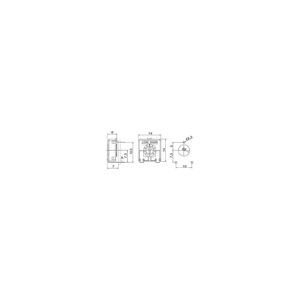 VAR10/25 -- Varistor 25/39V 500A