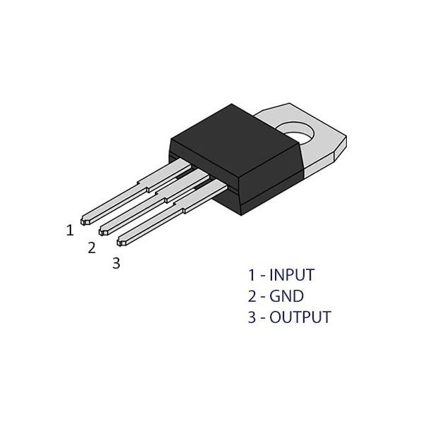 Mikroprekidač 5A 250V 20x10x6mm