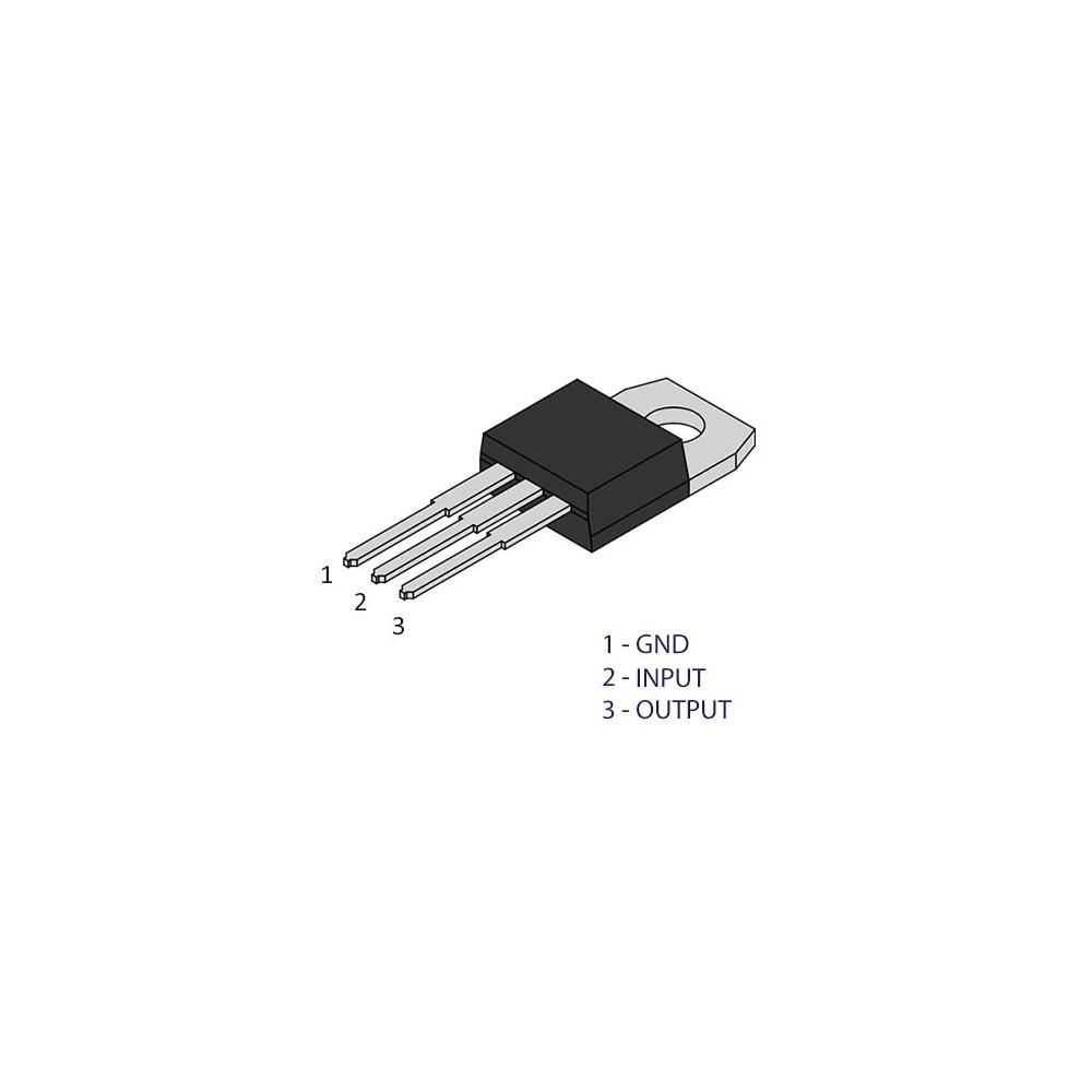 ISP05A12V :: Ispravljac 220V/12V DC 0.5A