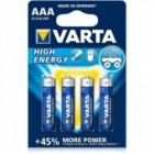 High Energy alkalna LR03 VARTA