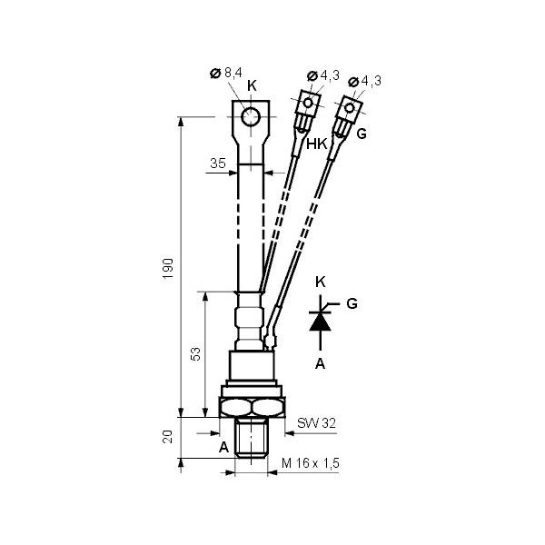 Baterija alkalna V23GA ,12V VARTA