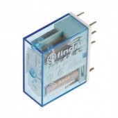RELF4452-9V :: Mini relej 2CO 6A 9VDC ,sensitive